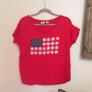 Red t-shirt 🇺🇸